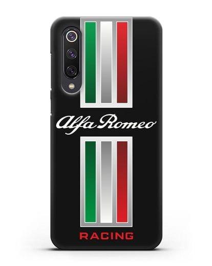Чехол с логотипом Альфа Ромео силикон черный для Xiaomi Mi 9 SE