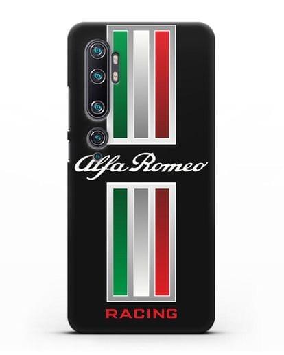 Чехол с логотипом Альфа Ромео силикон черный для Xiaomi Mi CC9 Pro