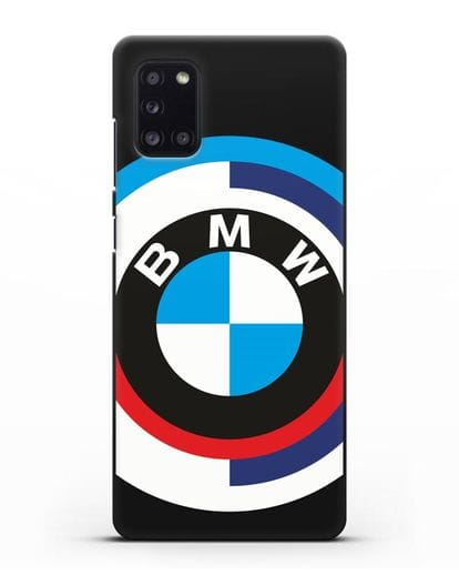 Чехол с логотипом BMW силикон черный для Samsung Galaxy A31 [SM-A315F]