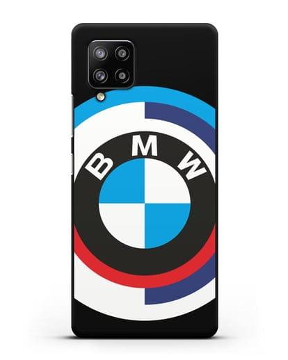 Чехол с логотипом BMW силикон черный для Samsung Galaxy A42 [SM-A426B]
