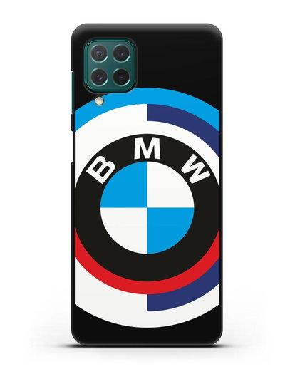 Чехол с логотипом BMW силикон черный для Samsung Galaxy M62 [SM-M625F]