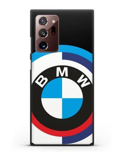 Чехол с логотипом BMW силикон черный для Samsung Galaxy Note 20 Ultra [SM-N985F]