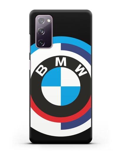 Чехол с логотипом BMW силикон черный для Samsung Galaxy S20 FE [SM-G780F]