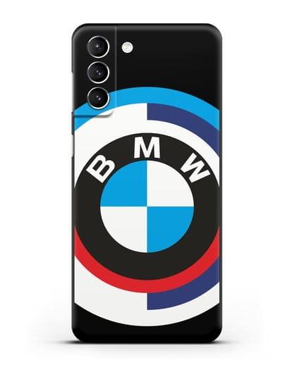 Чехол с логотипом BMW силикон черный для Samsung Galaxy S21 Plus [SM-G996B]