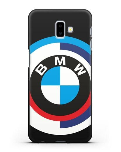Чехол с логотипом BMW силикон черный для Samsung Galaxy J6 Plus [SM-J610F]