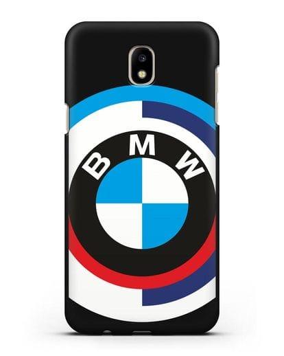 Чехол с логотипом BMW силикон черный для Samsung Galaxy J7 2017 [SM-J720F]