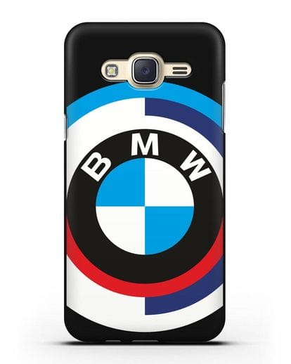 Чехол с логотипом BMW силикон черный для Samsung Galaxy J7 Neo [SM-J701F]