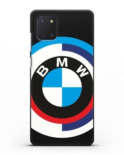 Чехол с логотипом BMW силикон черный для Samsung Galaxy Note 10 Lite [N770F]