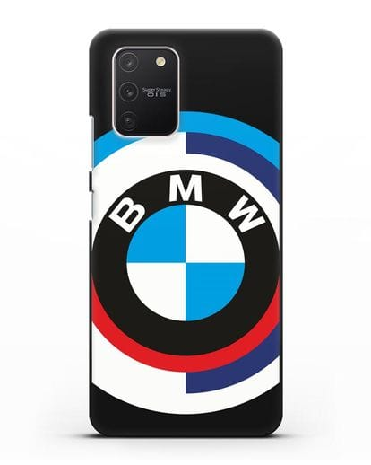 Чехол с логотипом BMW силикон черный для Samsung Galaxy S10 lite [SM-G770F]