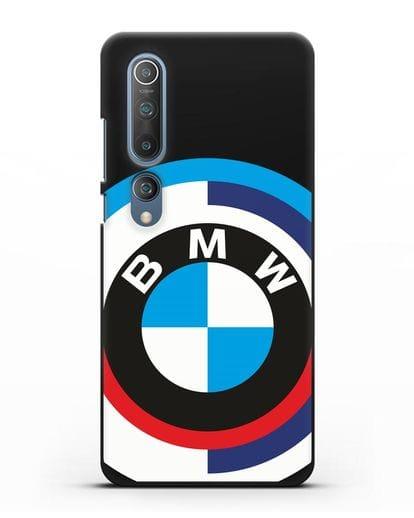 Чехол с логотипом BMW силикон черный для Xiaomi Mi 10 Pro