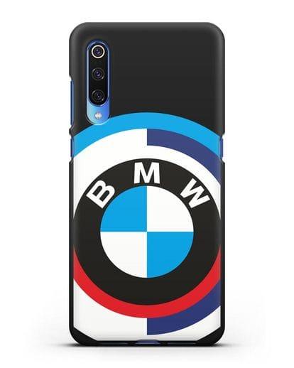 Чехол с логотипом BMW силикон черный для Xiaomi Mi 9