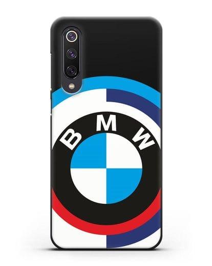 Чехол с логотипом BMW силикон черный для Xiaomi Mi 9 SE
