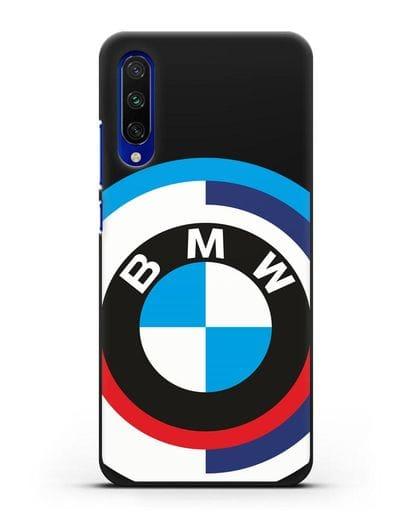 Чехол с логотипом BMW силикон черный для Xiaomi Mi A3