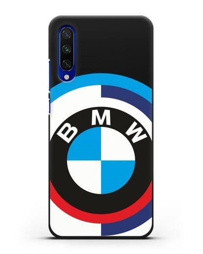 Чехол с логотипом BMW силикон черный для Xiaomi Mi CC9 E