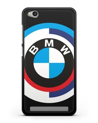 Чехол с логотипом BMW силикон черный для Xiaomi Redmi 5A