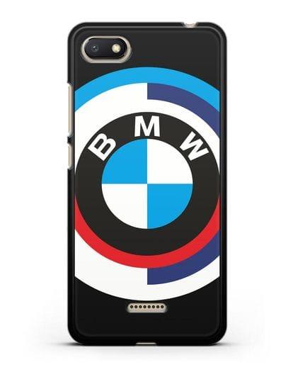Чехол с логотипом BMW силикон черный для Xiaomi Redmi 6A