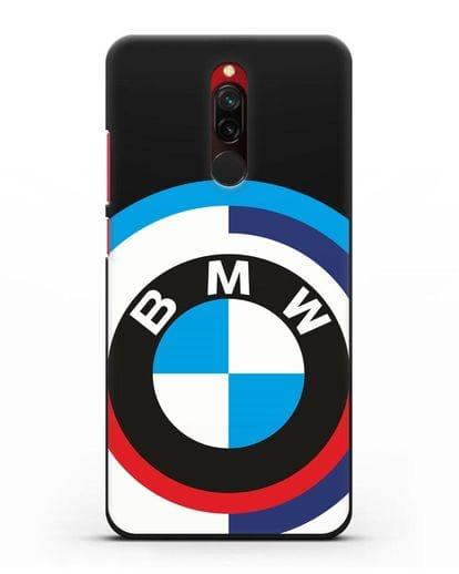 Чехол с логотипом BMW силикон черный для Xiaomi Redmi 8