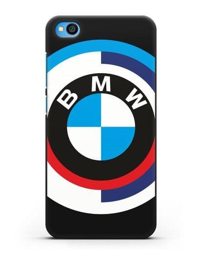 Чехол с логотипом BMW силикон черный для Xiaomi Redmi Go