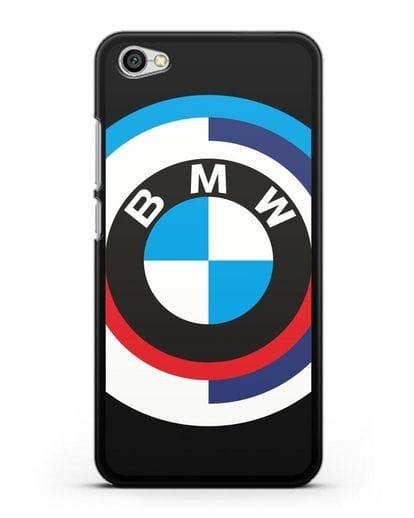 Чехол с логотипом BMW силикон черный для Xiaomi Redmi Note 5A