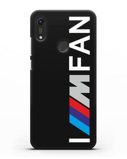 Чехол BMW M серии I am fan силикон черный для Honor 8A Prime