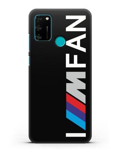 Чехол BMW M серии I am fan силикон черный для Honor 9A