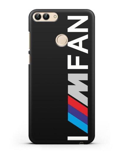 Чехол BMW M серии I am fan силикон черный для Huawei P Smart