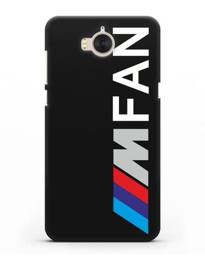 Чехол BMW M серии I am fan силикон черный для Huawei Y5 2017