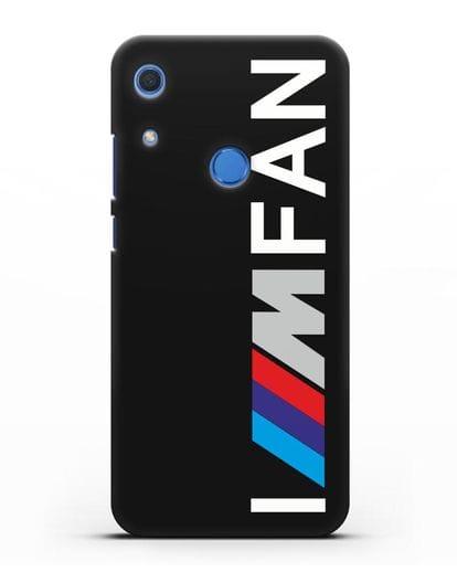 Чехол BMW M серии I am fan силикон черный для Huawei Y6s