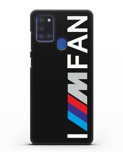 Чехол BMW M серии I am fan силикон черный для Samsung Galaxy A21s [SM-A217F]