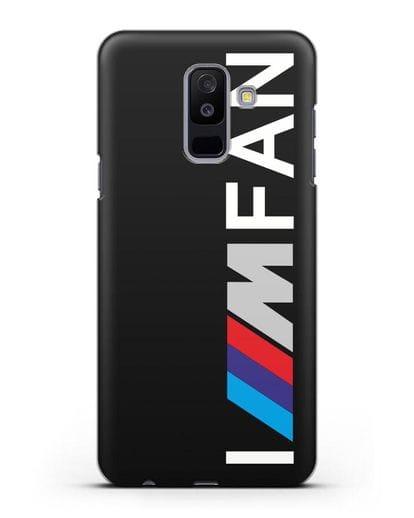 Чехол BMW M серии I am fan силикон черный для Samsung Galaxy A6 Plus 2018 [SM-A605F]