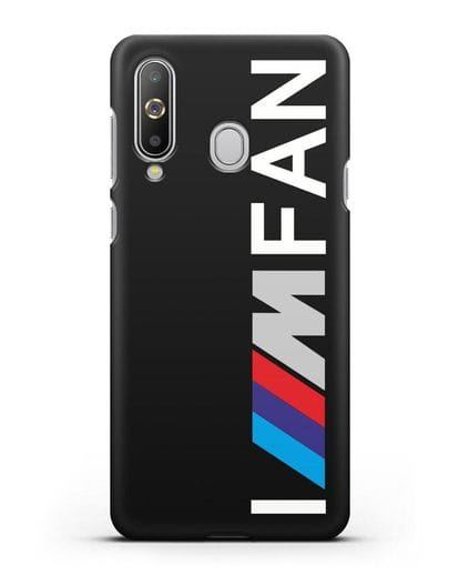 Чехол BMW M серии I am fan силикон черный для Samsung Galaxy A8s [SM-G8870]