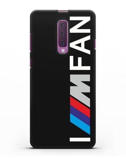 Чехол BMW M серии I am fan силикон черный для Samsung Galaxy A90 [SM-A908N]