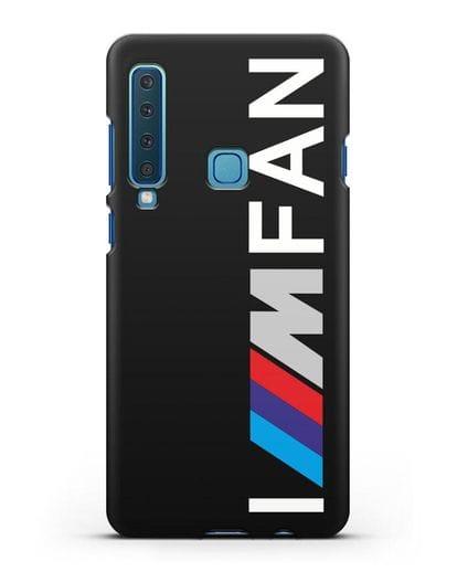 Чехол BMW M серии I am fan силикон черный для Samsung Galaxy A9 (2018) [SM-A920]