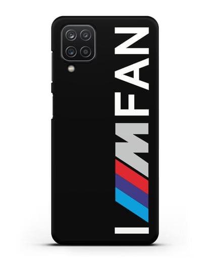 Чехол BMW M серии I am fan силикон черный для Samsung Galaxy A12 [SM-A125F]