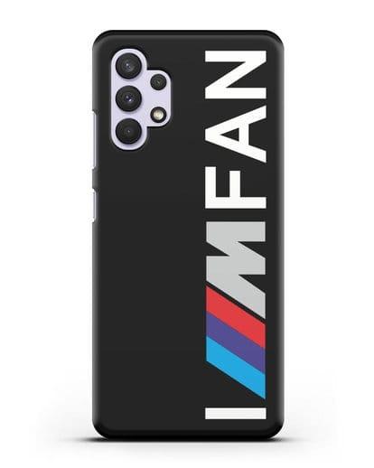 Чехол BMW M серии I am fan силикон черный для Samsung Galaxy A32 4G [SM-A325F]