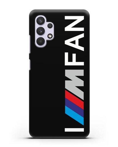 Чехол BMW M серии I am fan силикон черный для Samsung Galaxy A32 5G [SM-A326B]