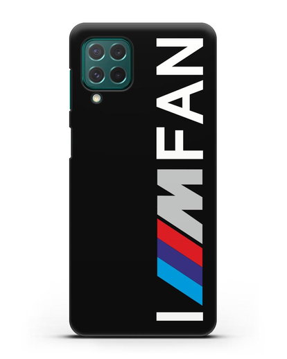 Чехол BMW M серии I am fan силикон черный для Samsung Galaxy M62 [SM-M625F]
