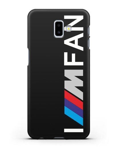 Чехол BMW M серии I am fan силикон черный для Samsung Galaxy J6 Plus [SM-J610F]