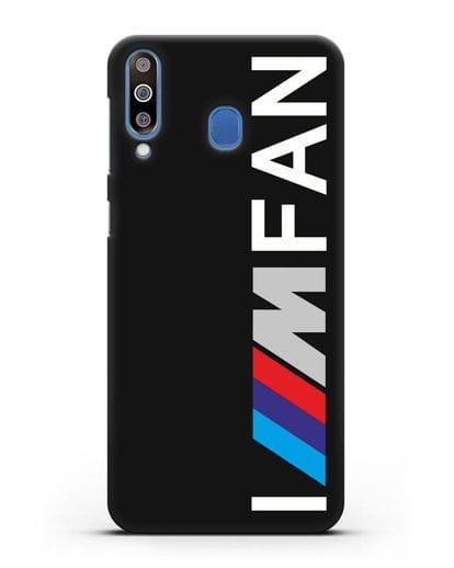 Чехол BMW M серии I am fan силикон черный для Samsung Galaxy M30 [SM-M305F]