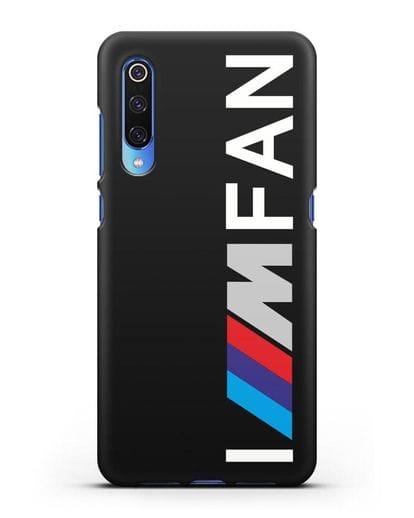 Чехол BMW M серии I am fan силикон черный для Xiaomi Mi 9