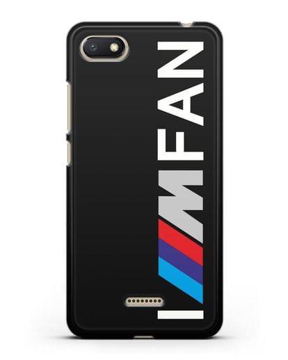 Чехол BMW M серии I am fan силикон черный для Xiaomi Redmi 6A