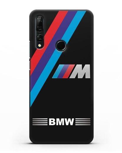 Чехол с логотипом BMW M Series силикон черный для Honor 9X