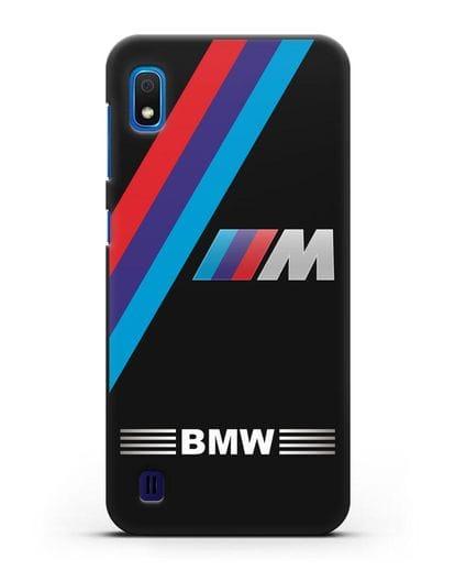 Чехол с логотипом BMW M Series силикон черный для Samsung Galaxy A10 [SM-A105F]