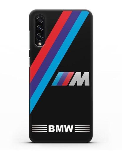 Чехол с логотипом BMW M Series силикон черный для Samsung Galaxy A50s [SM-F507FN]