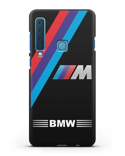 Чехол с логотипом BMW M Series силикон черный для Samsung Galaxy A9 (2018) [SM-A920]