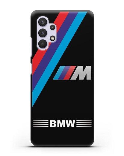Чехол с логотипом BMW M Series силикон черный для Samsung Galaxy A32 5G [SM-A326B]