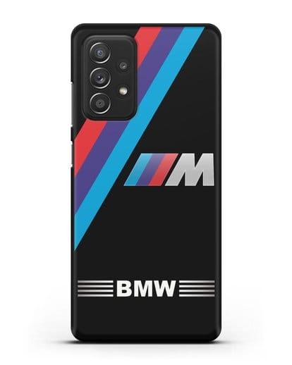 Чехол с логотипом BMW M Series силикон черный для Samsung Galaxy A52 5G [SM-A5260]