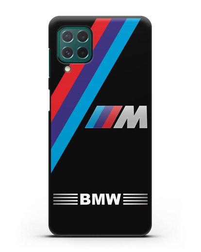 Чехол с логотипом BMW M Series силикон черный для Samsung Galaxy M62 [SM-M625F]