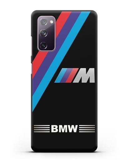 Чехол с логотипом BMW M Series силикон черный для Samsung Galaxy S20 FE [SM-G780F]
