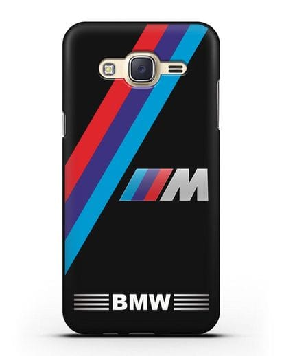 Чехол с логотипом BMW M Series силикон черный для Samsung Galaxy J5 2015 [SM-J500H]